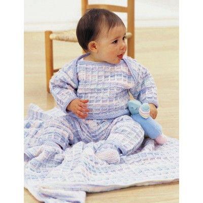 Patons Soft Shades Layette Free Baby Knitting Pattern | Knitting ...