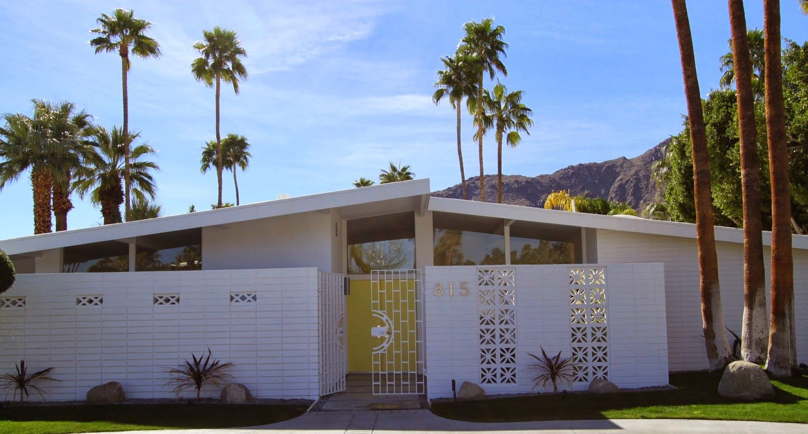 Walking Tour Vista Las Palmas Palm Springs Modernism Week Mid Century Mod Palm Springs Mid Century Modern Mid Century Exterior Modernism Week Palm Springs