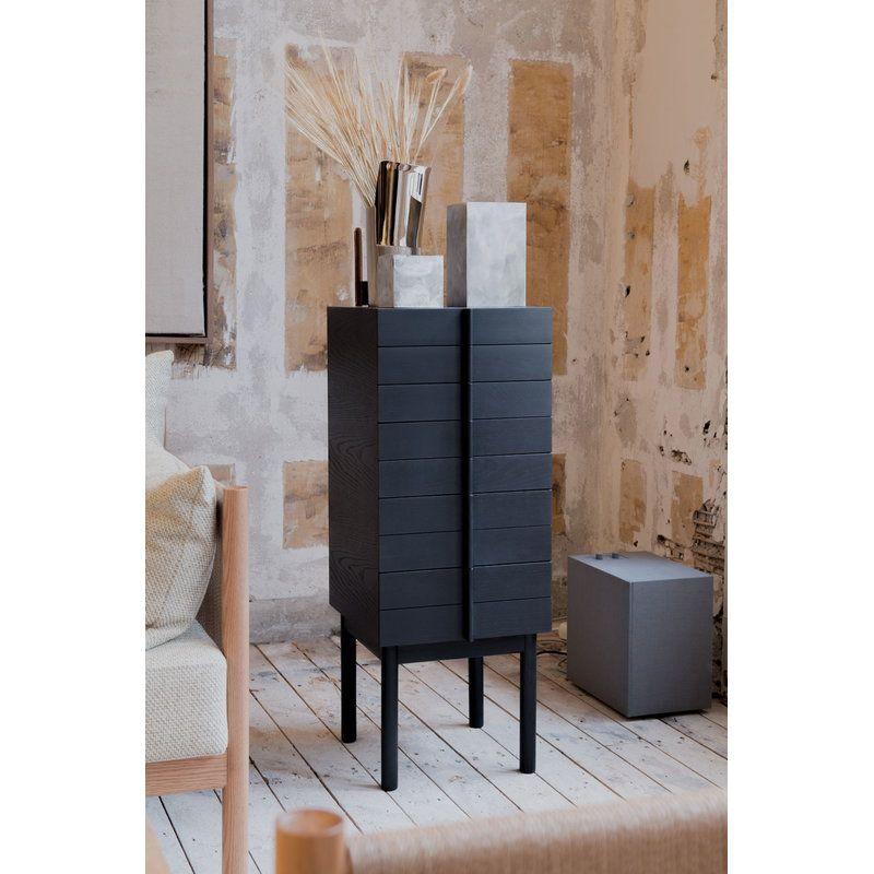Ariake Column Chest Of Drawers Black Chest Of Drawers Design Furniture Furniture Design