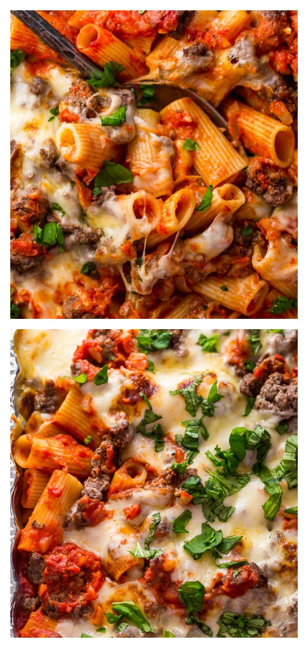 Photo of Baked Rigatoni with Beef – Baker by Nature