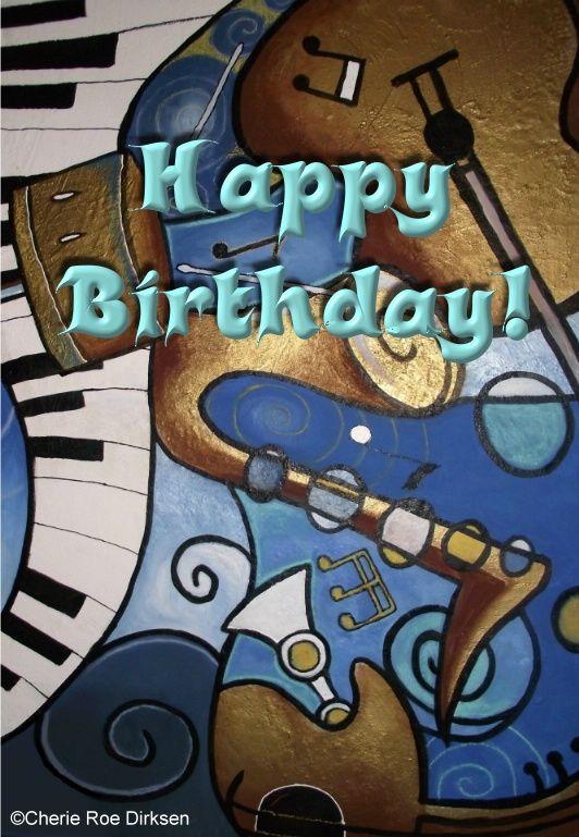 Musical E Card Happy Birthday Happy Birthday Music Happy Birthday Cards Happy Birthday Male Friend