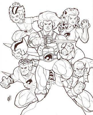 80s cartoon coloring pages thundercats coloring pages on l minas para colorear