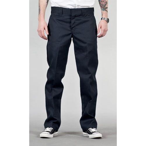 dickies pants | Home Men Jeans & Pants Dickies 873 Slim Work Pant Dark Navy