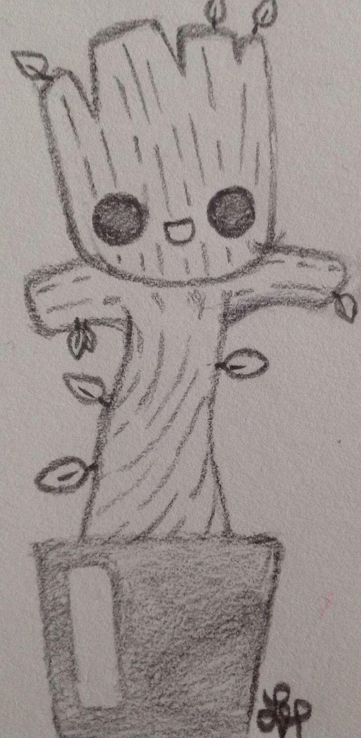 Photo of Baby Groot, #gardians_of_the_galaxy von Wolf Lyly (nicht die Originalkunst) #ga …