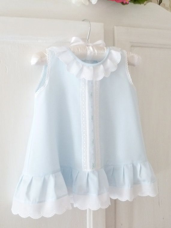 065bc4d23f61e Baby and Toddler A-line Sleeveless Summer Dress | heirloom sewing ...