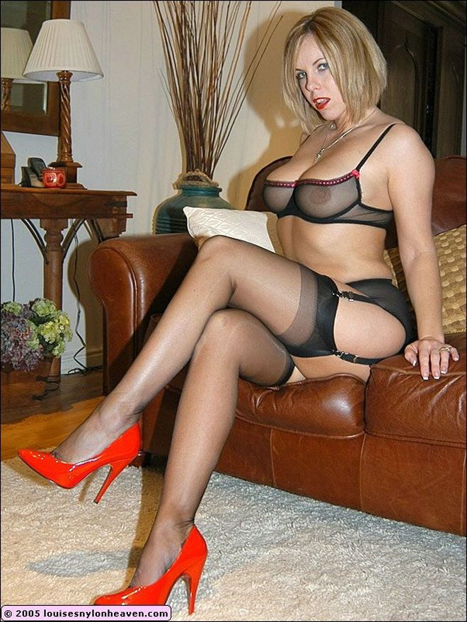 British Milf Mature Stockings