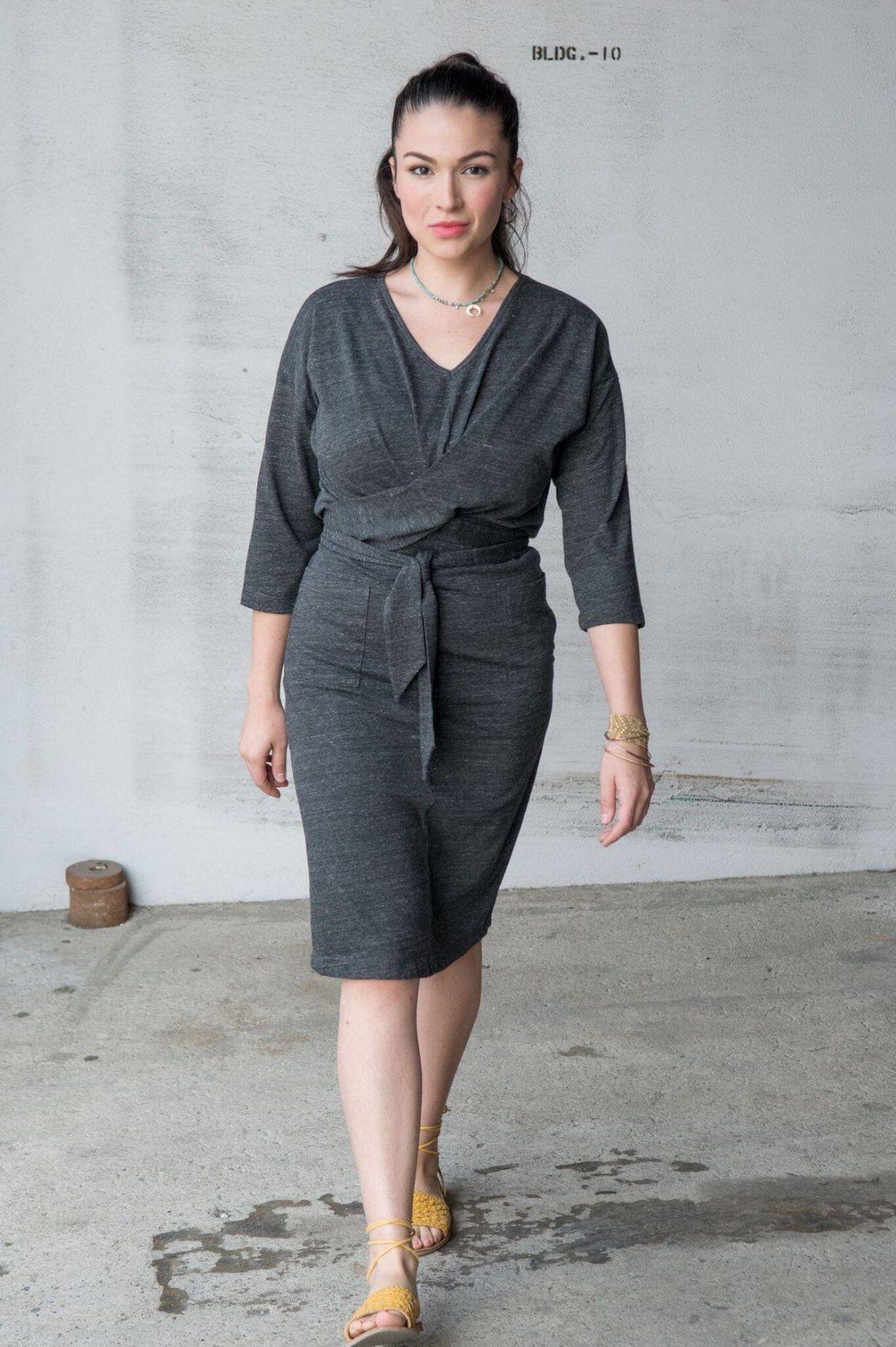 The Andi Dress In 2021 Dresses Wrap Dress T Shirt Dress [ 1754 x 1167 Pixel ]