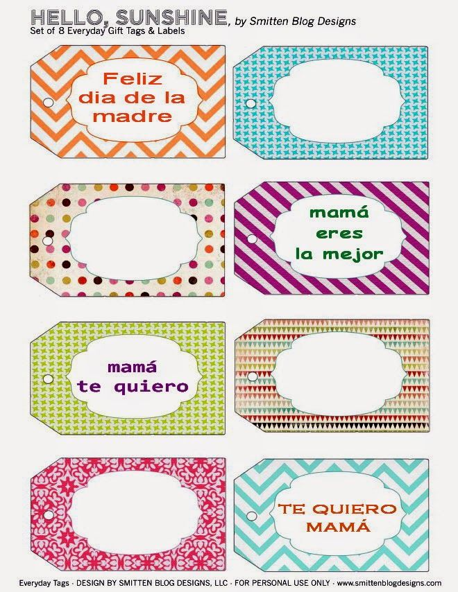 Imprimolandia diy dia de la madre borders pinterest dia de hole punch and put round lid with stringtwine free printable tags i think i need a printable taglabel intervention you can never have enough negle Gallery