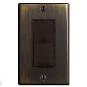 Oil Rubbed Bronze Brown Oil Rubbed Bronze Switch Plates