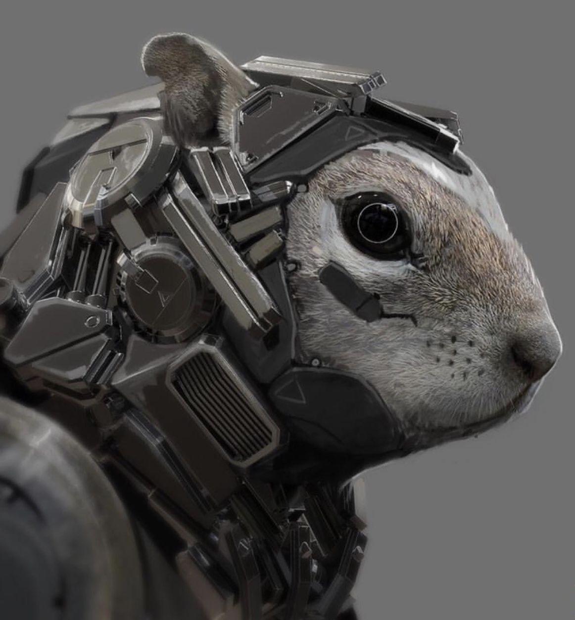 Robot Biomechanical Art In 2019 Robot Design Robot Animal