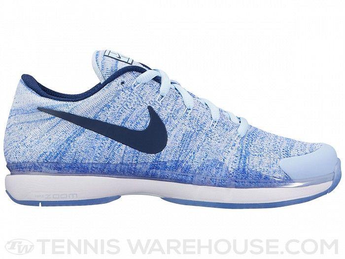 hot sale online 4ebc1 ad921 Nike Zoom Vapor 9.5 Flyknit Hydrogen Blue Women s Shoe