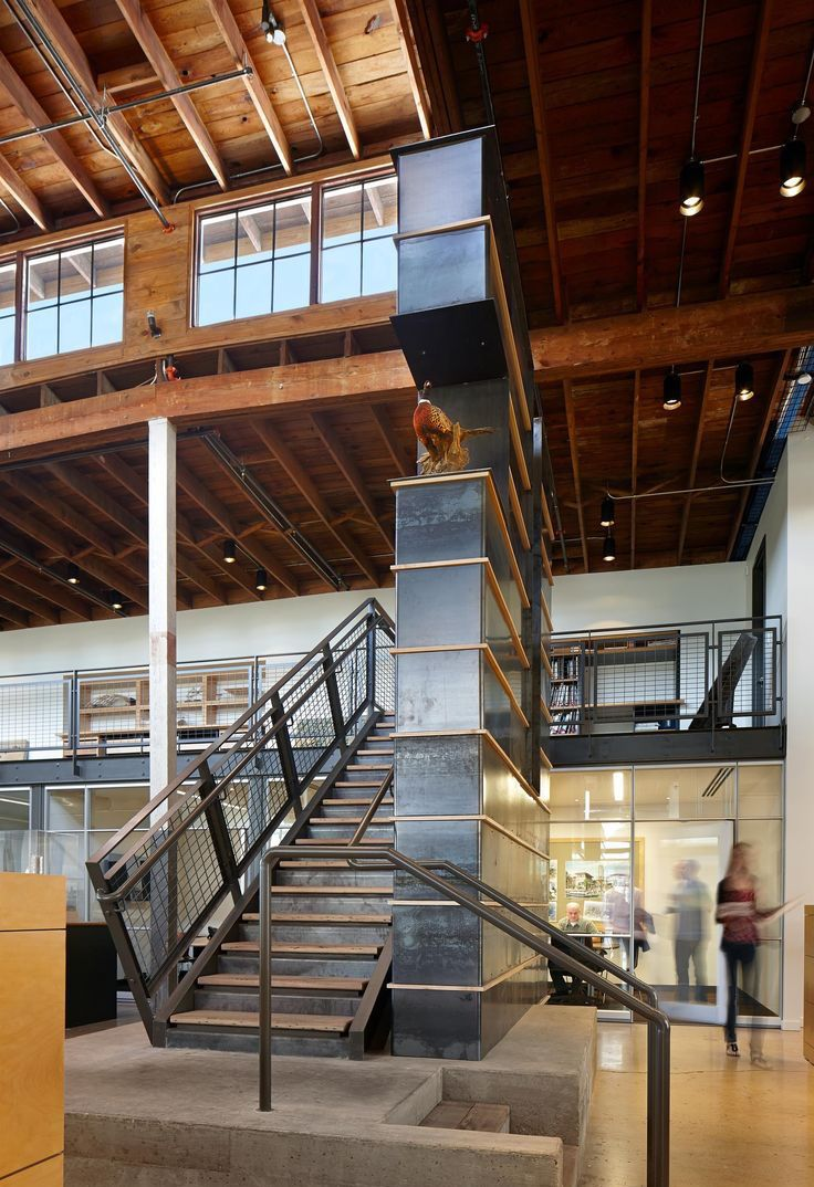 Adaptive reuse modern industrial historic restoration for Modern industrial building design