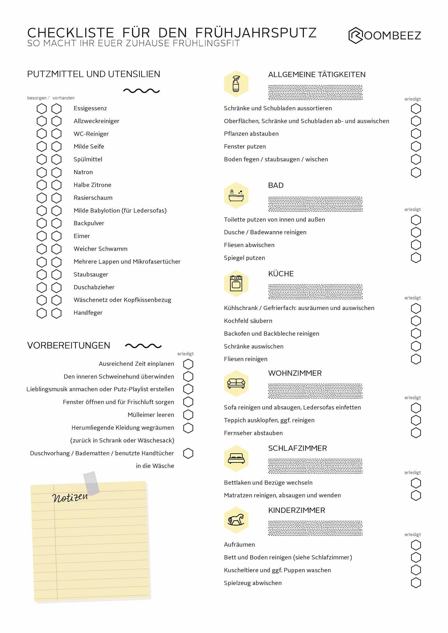 Putzplan Checkliste Fur Eine Saubere Wohnung Otto Fruhjahrsputz Put Checkliste Eine Fruh In 2020 Hausreinigungs Tipps Nutzliche Tipps Fruhjahrsputz Tipps