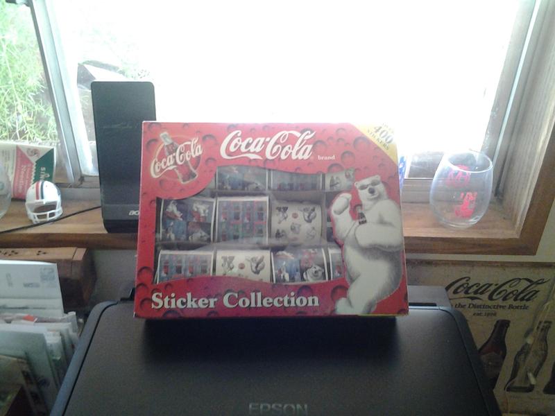 coca cola stickers addicting listia pinterest coca cola and cola