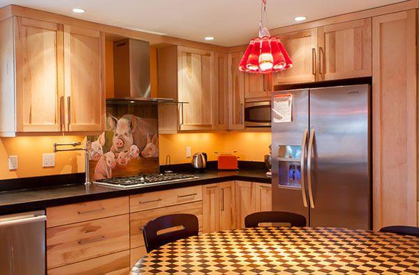 Birch Cabinet Kitchens- Stainless Steel Appliances