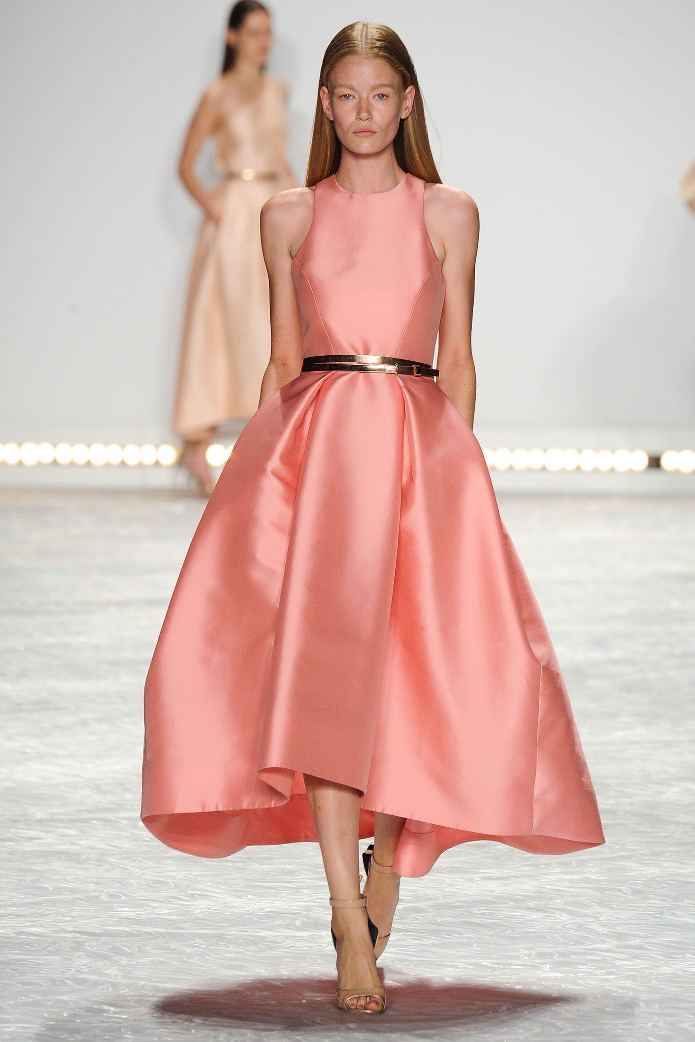 Monique Lhuillier Spring 2015 Ready-to-Wear Fashion Show | Mi estilo ...