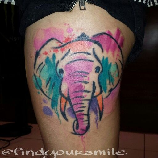 The 25 Best Dedication Tattoos Ideas On Pinterest: Best 25+ Watercolor Elephant Tattoos Ideas On Pinterest