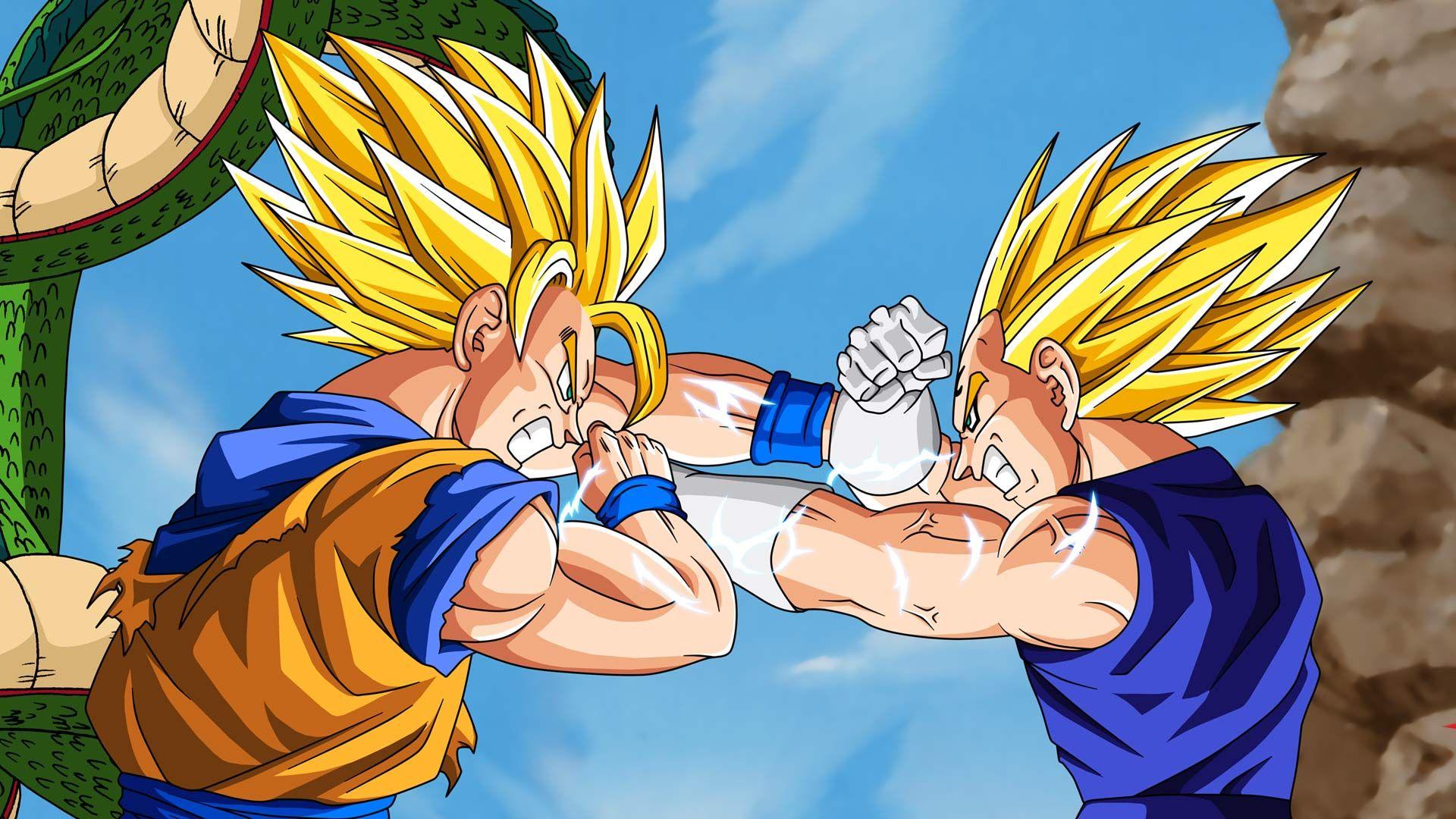 Vegeta Vs Goku Wallpapers Vegeta Vs Goku Backgrounds Vegeta Vs Goku Images Free Computer Desktop Wallpapers Dragon Ball Z Hd Dragon Ball Dragon Ball Z Goku