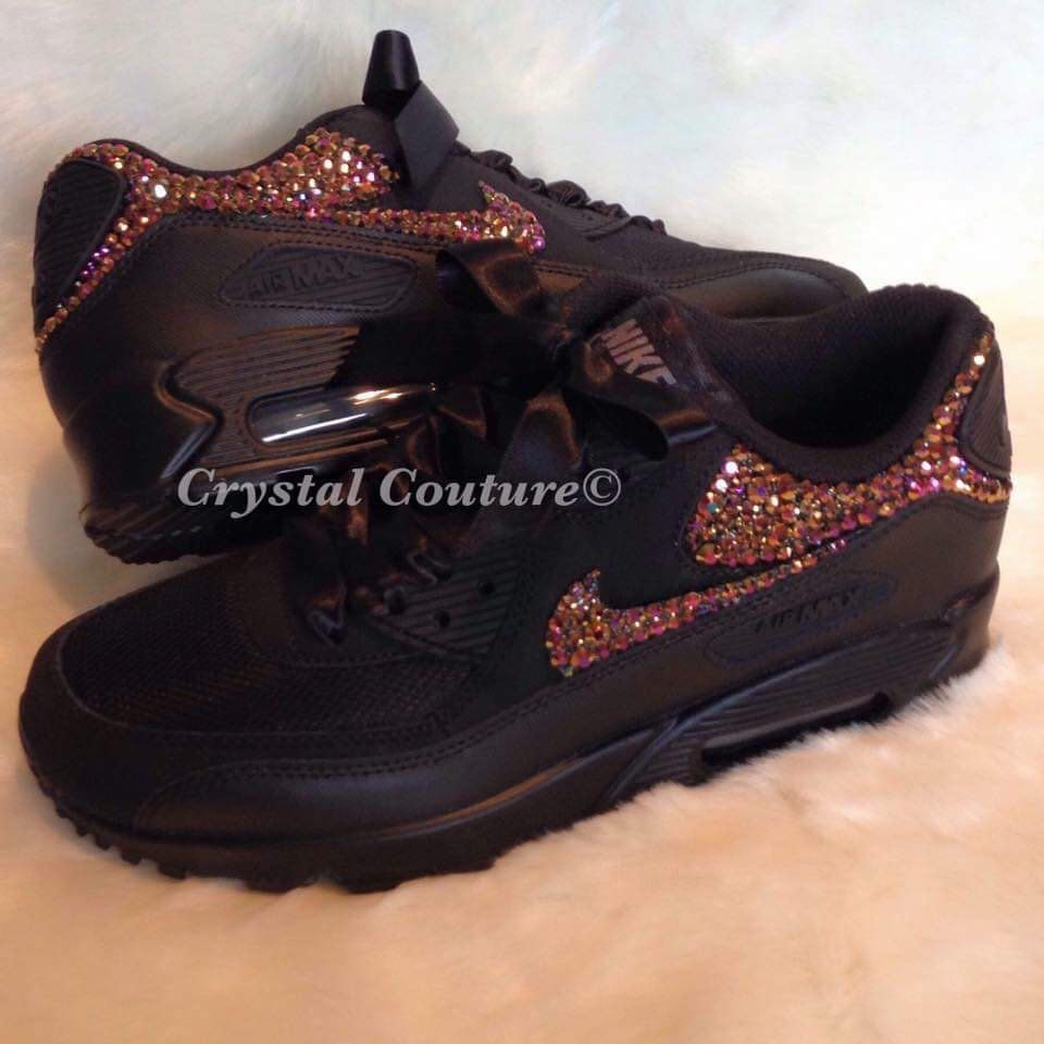 Excited to share this item from my  etsy shop  Swarovski Nike Air Max 90 76d249aa1f
