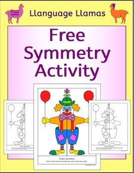 Grab this FREE Symmetry Activity for your 1st, 2nd, 3rd, 4th and 5th grade classroom and home school students to practice math skills in symmetry. Perfect for math centers, morning work or fast finishers. Completing the clown picture has 3 levels of difficulty for differentiation in the classroom. A FREEBIE! {first, second, third, fourth and fifth grader, homeschool}