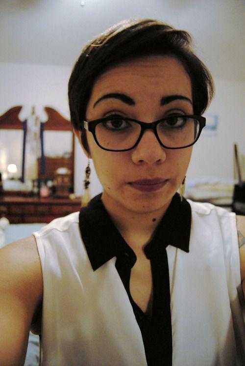 Teen Short Hair Glasses