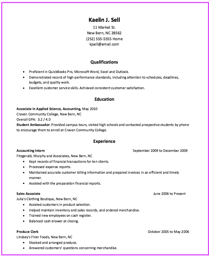 Resume Produce Clerk Examples  HttpExampleresumecvOrgResume