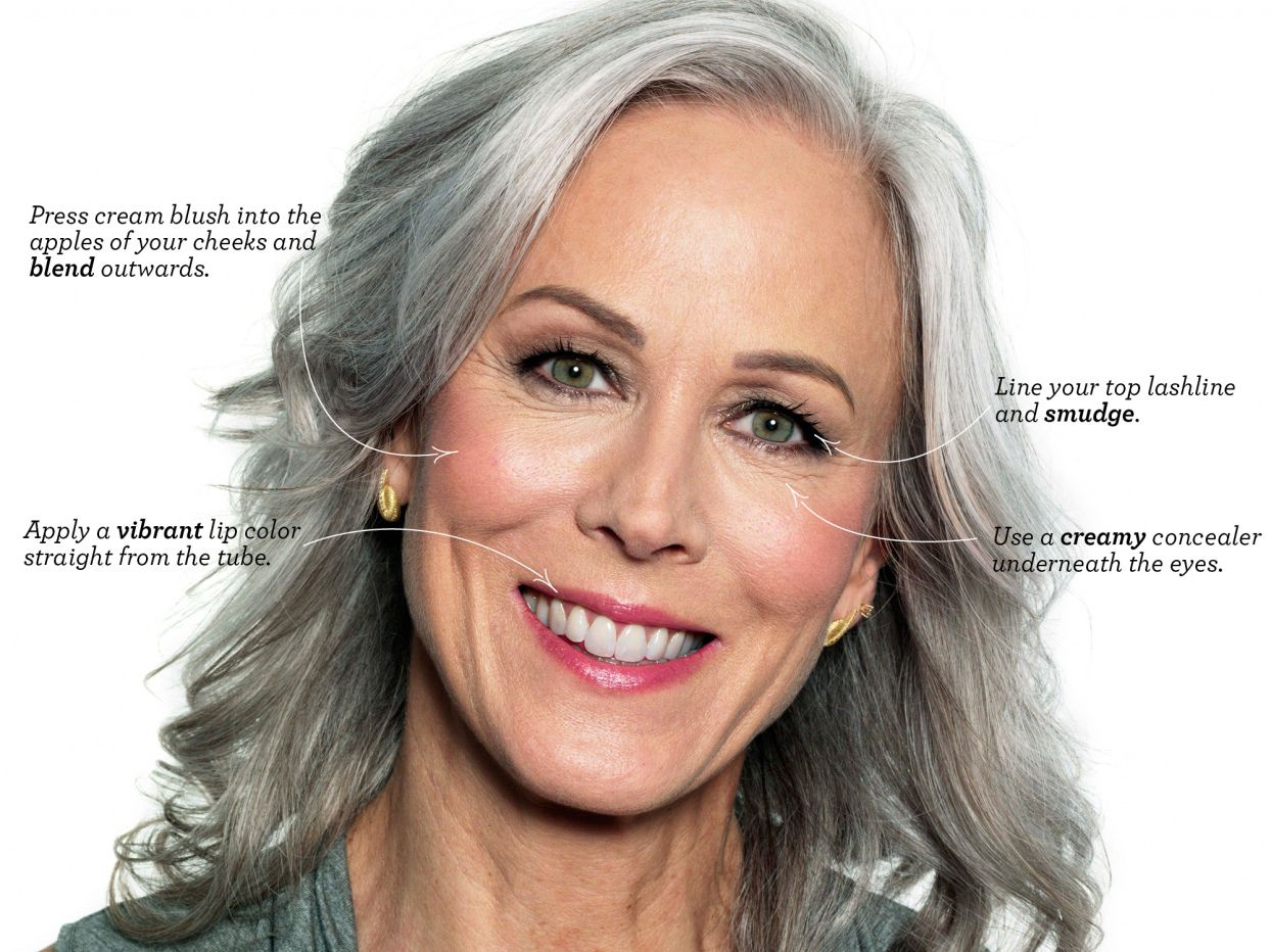 Eyebrow Color for Gray Hair Best Color Hair for Hazel