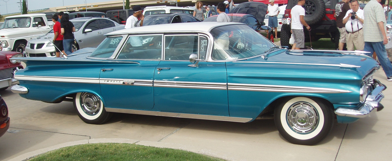 1959 Chevrolet Impala 4 Door Hardtop Sedan Chevrolet Chevrolet Impala Chevrolet Impala 1959