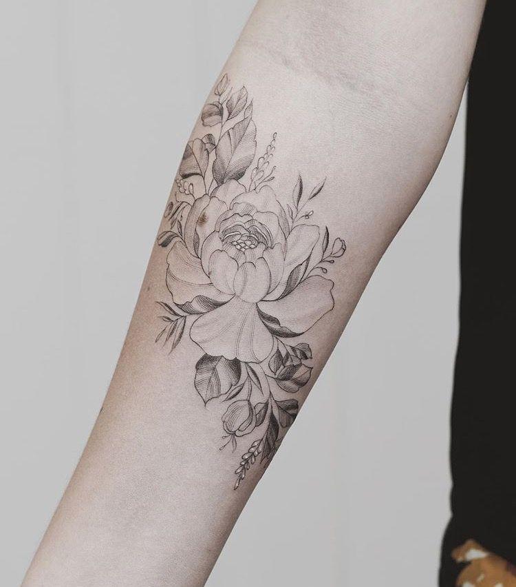 Feminine Flower Tattoo Designs: Tattoos, Body Art Tattoos