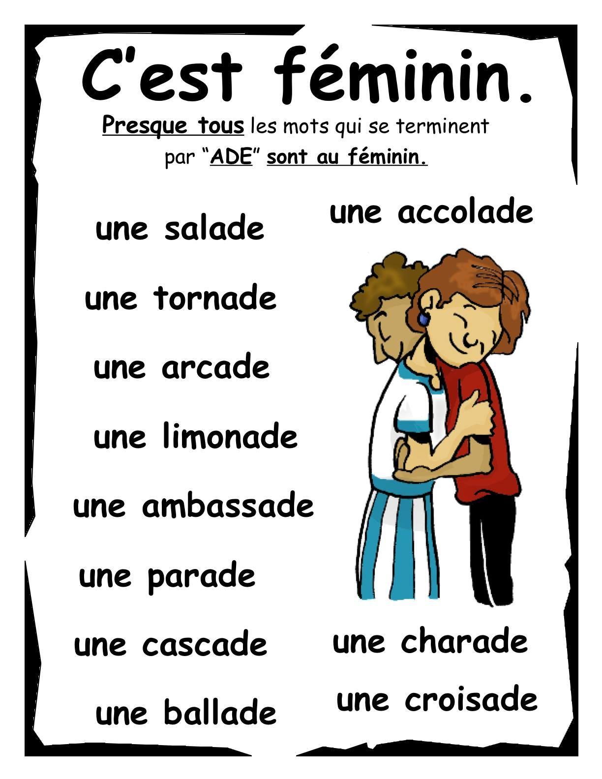 c feminin