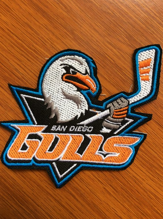 Patch San Diego Gulls American Hockey League Ahl California