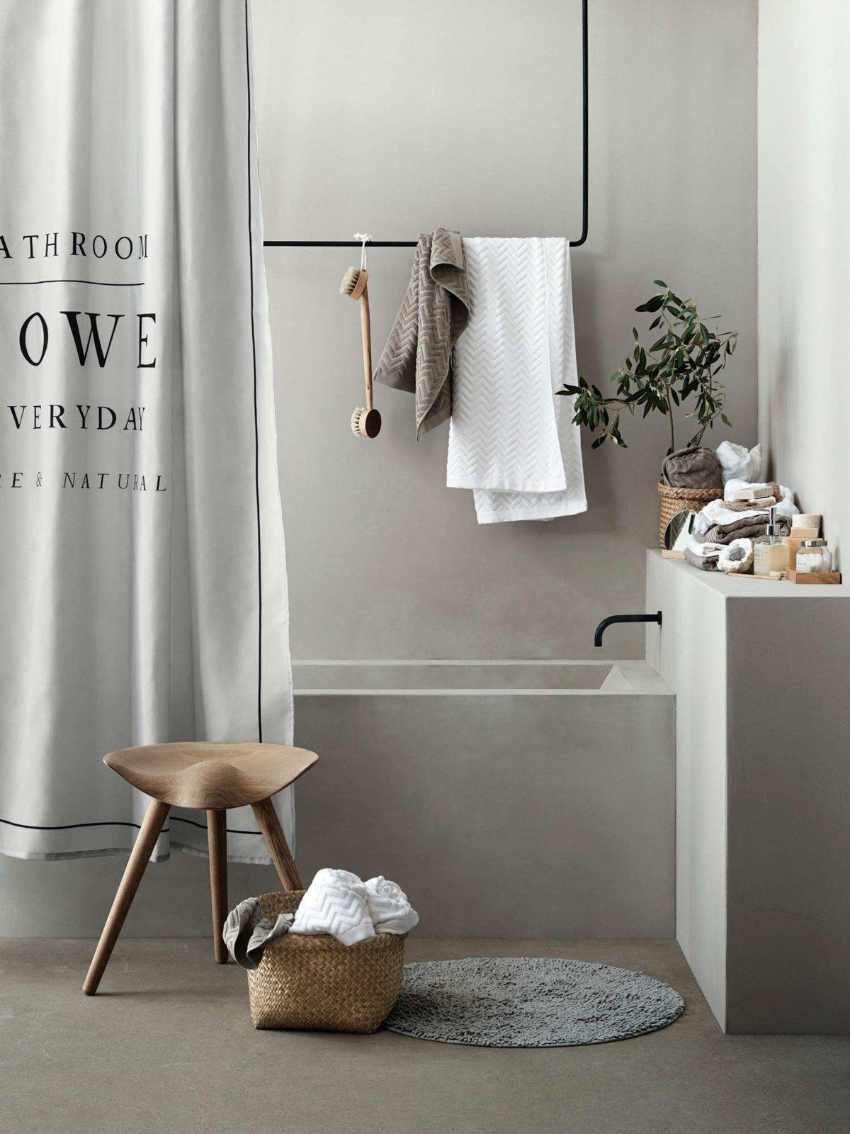 Toll Badezimmer · Wie Kann Man Badetücher Und Handtücher Schön Aufhängen, Ohne  Dass Sie Nass Bleiben Oder übereinander