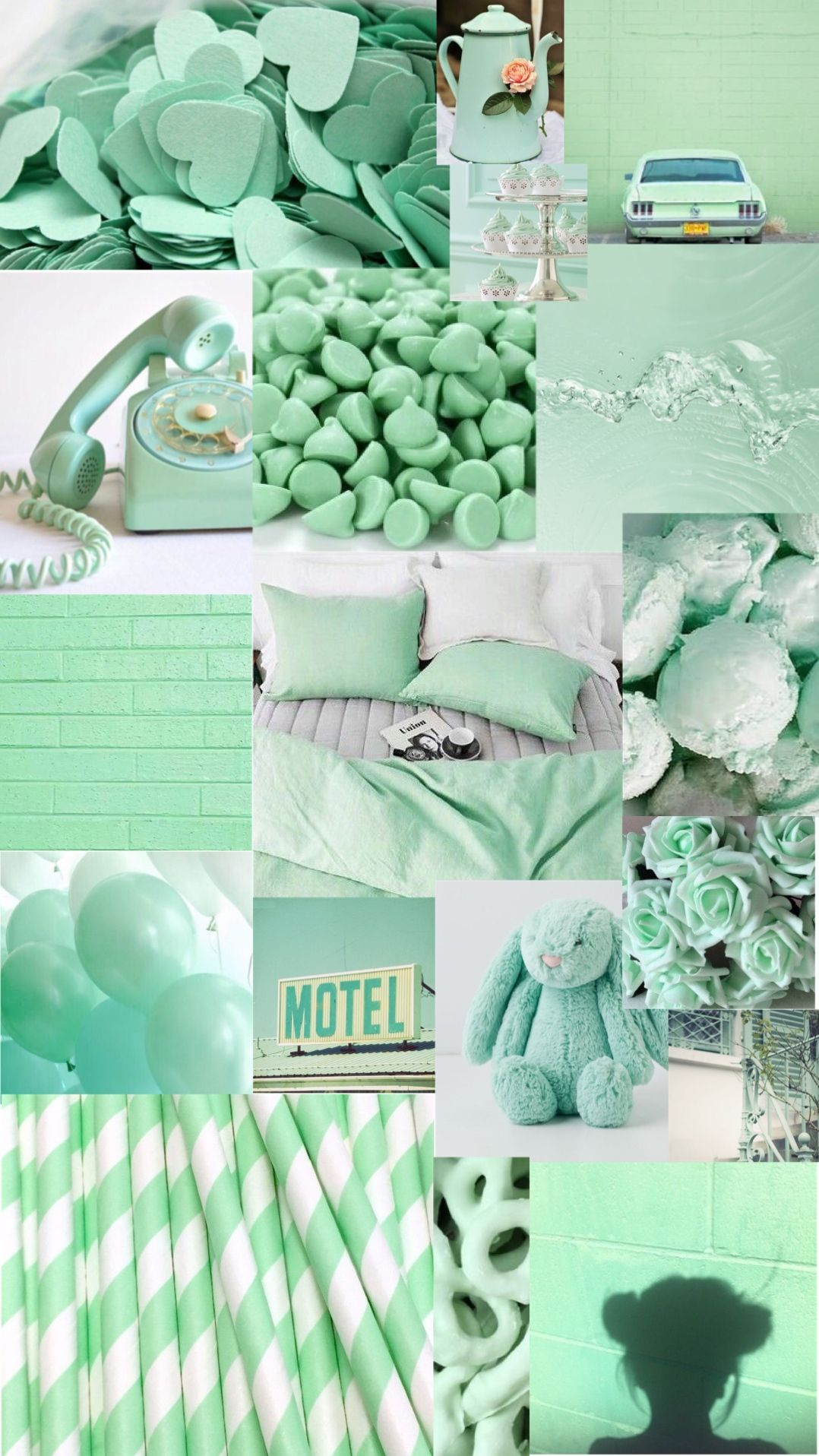 turquoise aesthetic background Aesthetic pastel