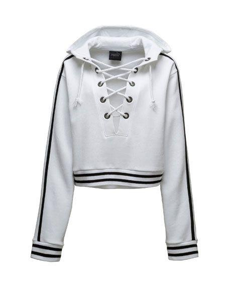 14a2c7e425af FENTY PUMA by Rihanna Lace-Up Hoodie Sweatshirt