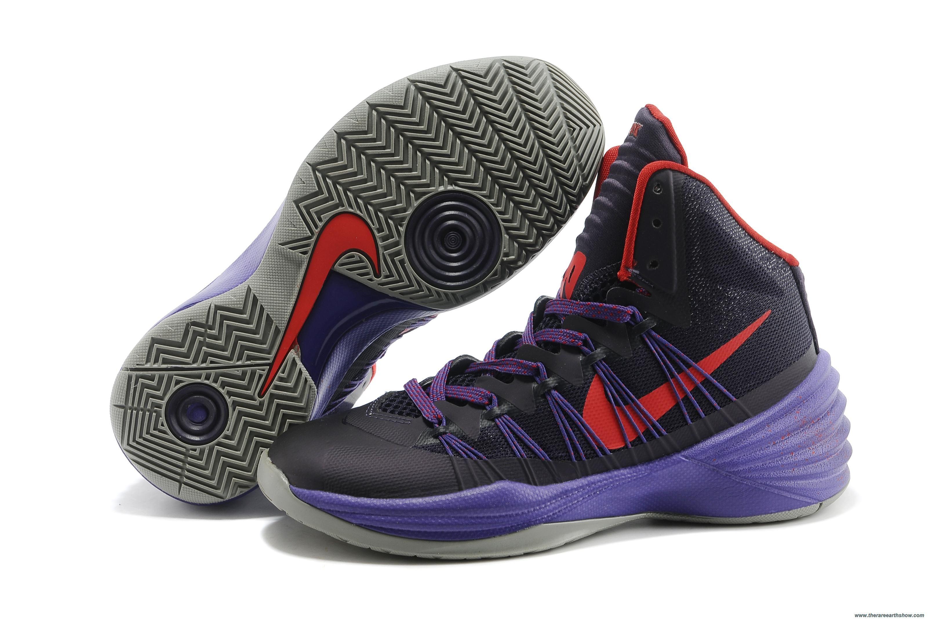 71f5aabf4bdd Discounts Purple Dynasty University Red-Purple Womens Nike Hyperdunk 2013  XDR