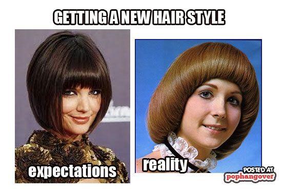 Haircut Expectation Vs Reality