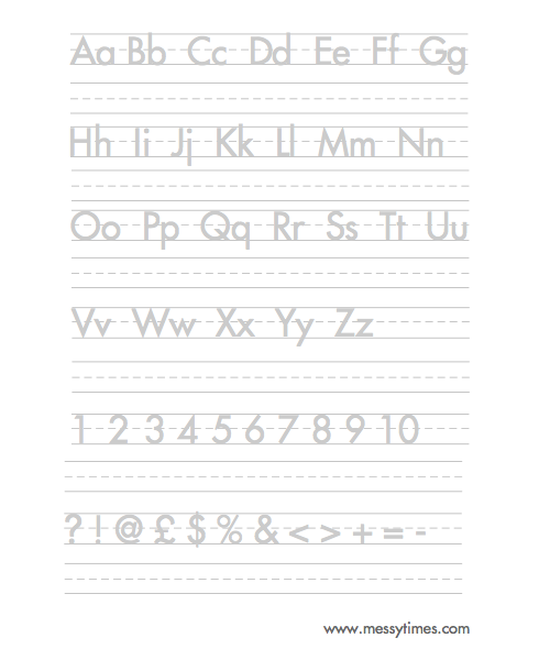 Worksheets Handwriting Alphabet Worksheets handwriting worksheet alphabet worksheets and on pinterest
