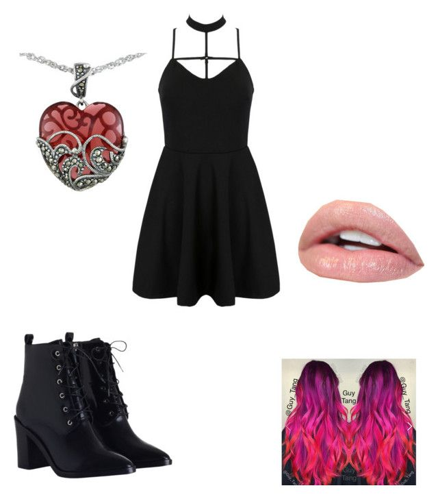 """""""Untitled #73"""" by sartoriusbae123 on Polyvore featuring WithChic, Zimmermann and Lord & Taylor"""