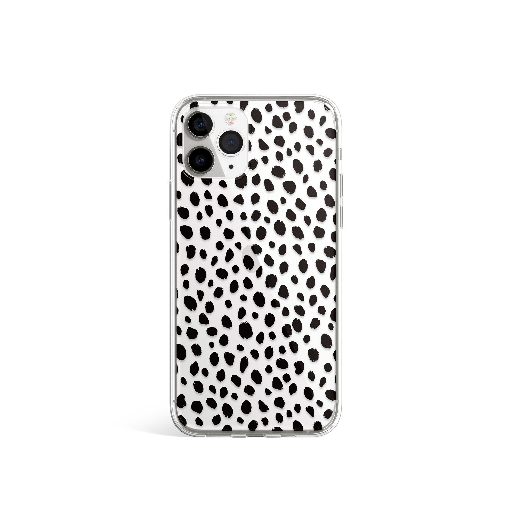 Silicone Case Polka Dots Black Dots Pattern Animal Print   Etsy ...