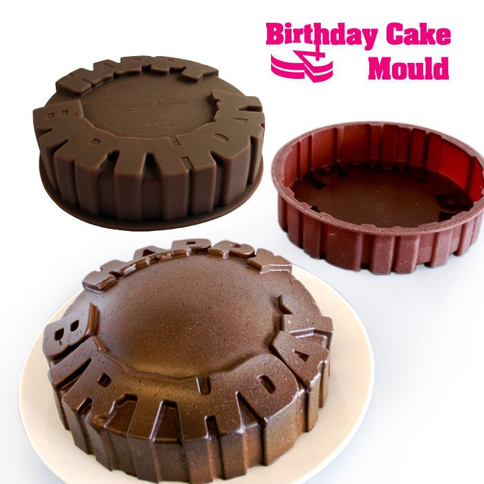 Happy Birthday Cake Mold Baking Oven Pan