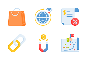 Marketing And Growth Icons By Aficons Studio Marketing Icon Marketing Web Marketing