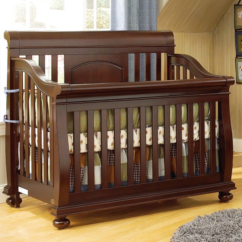 Barcelona Crib Cherry 381129683 | Cribs | Furniture | Burlington ...