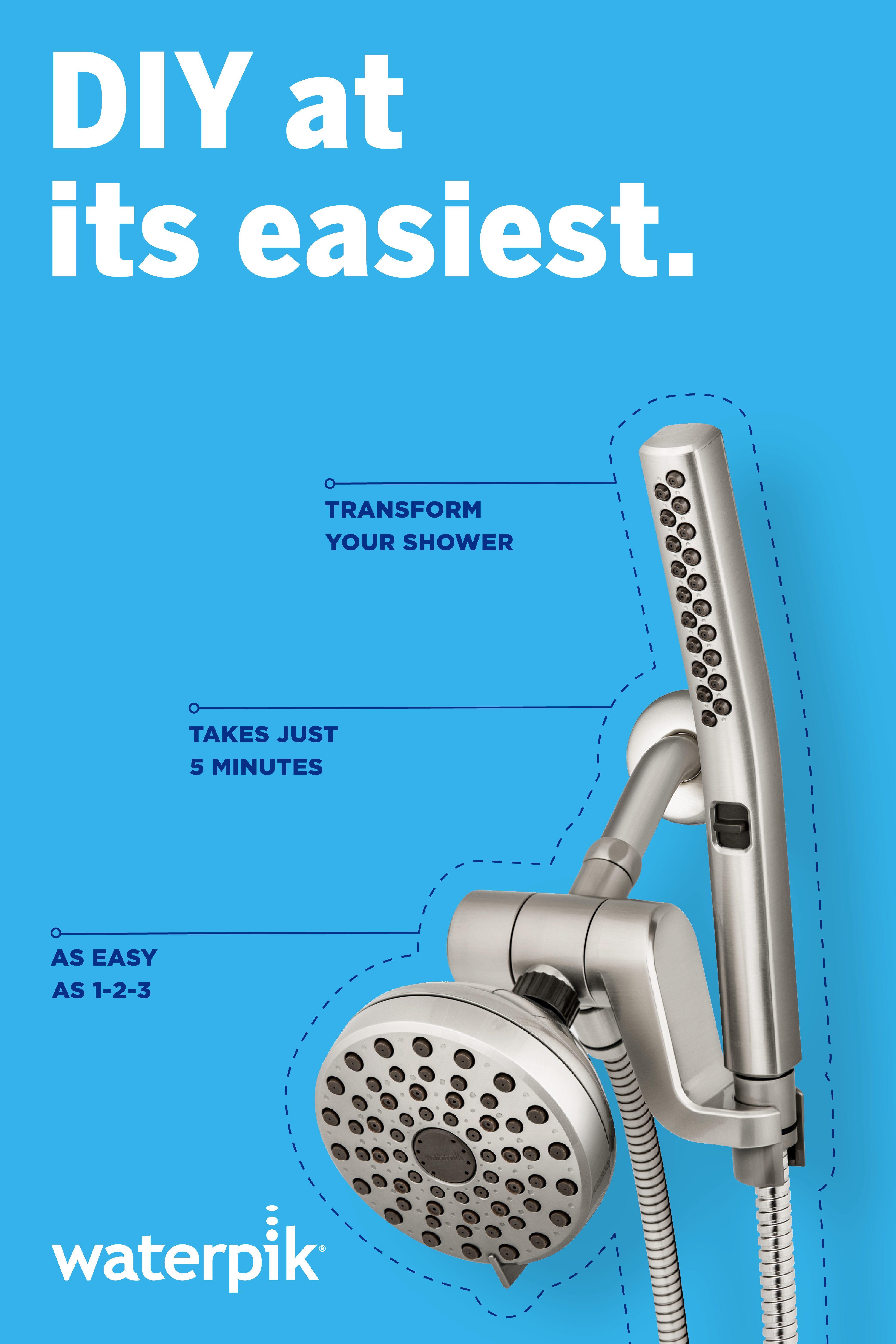 Transform Your Shower In Minutes Diy Plumbing Diy Home Repair Home Repair