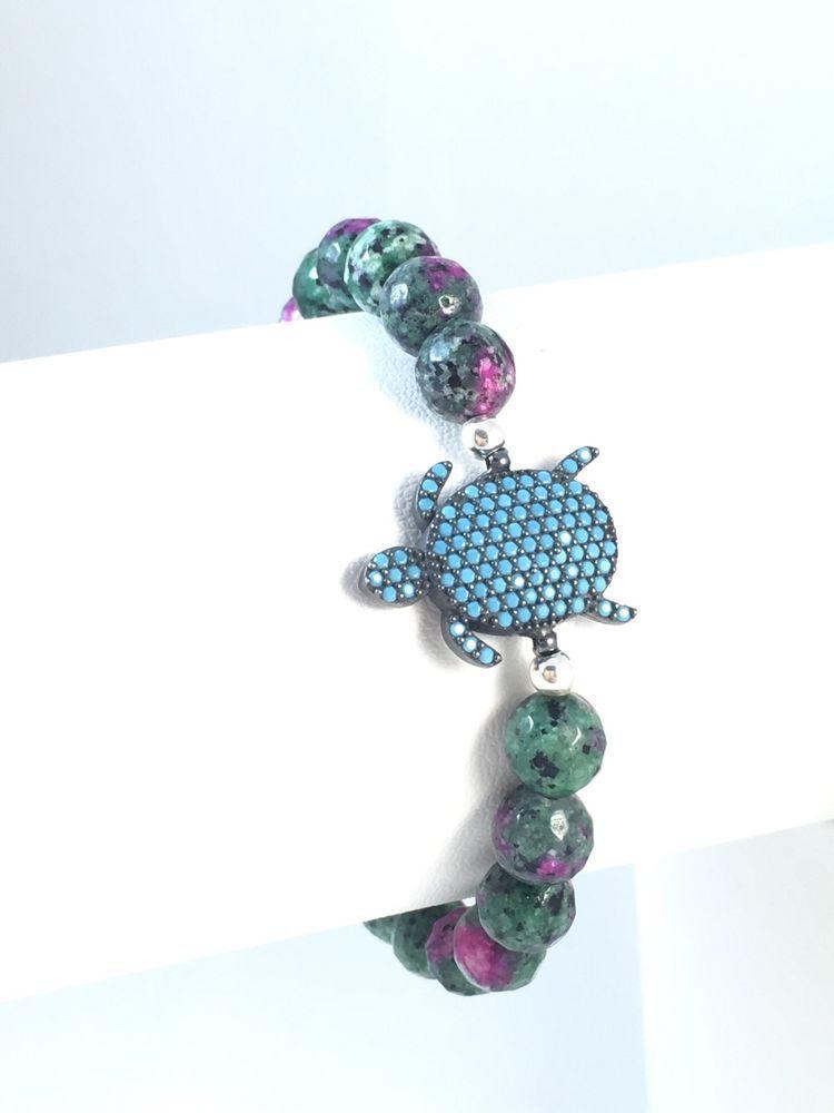 Turkish Handmade Natural Stone Turquolse Bracelet Alltobuy | eBay