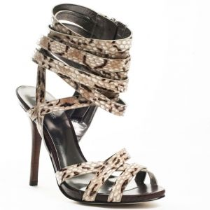SALE - Womens Marciano Reiko Stiletto Heels Brown Leather - Was $239.99 - SAVE $24.00. BUY Now - ONLY $215.99.