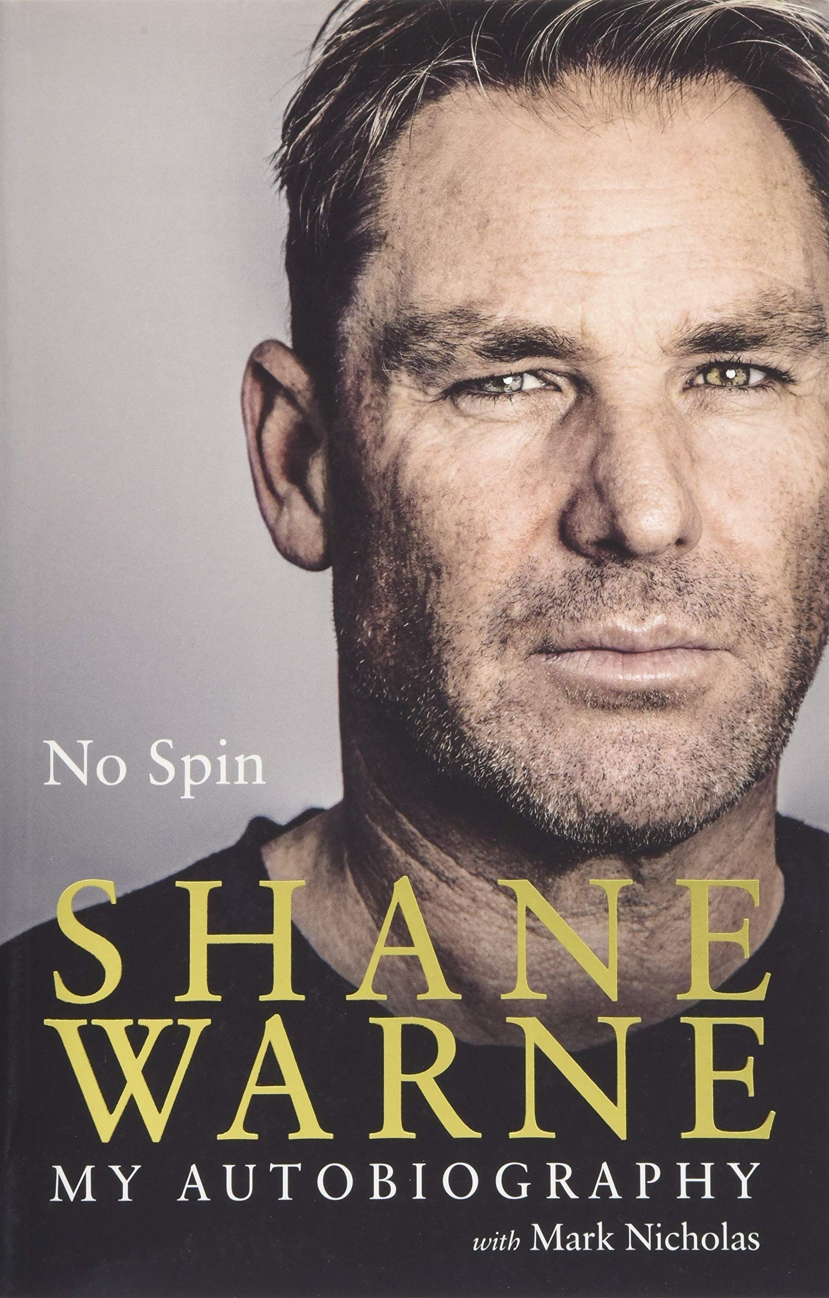 No Spin My Autobiography Paperback Spin Autobiography Paperback My Autobiography Autobiography Paperbacks