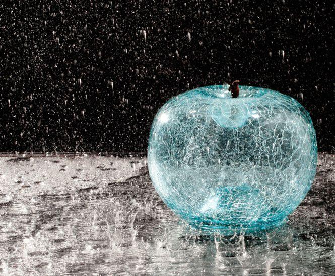 An apple for eternity amazing artwork skulpturen - Skulpturen wohnzimmer ...