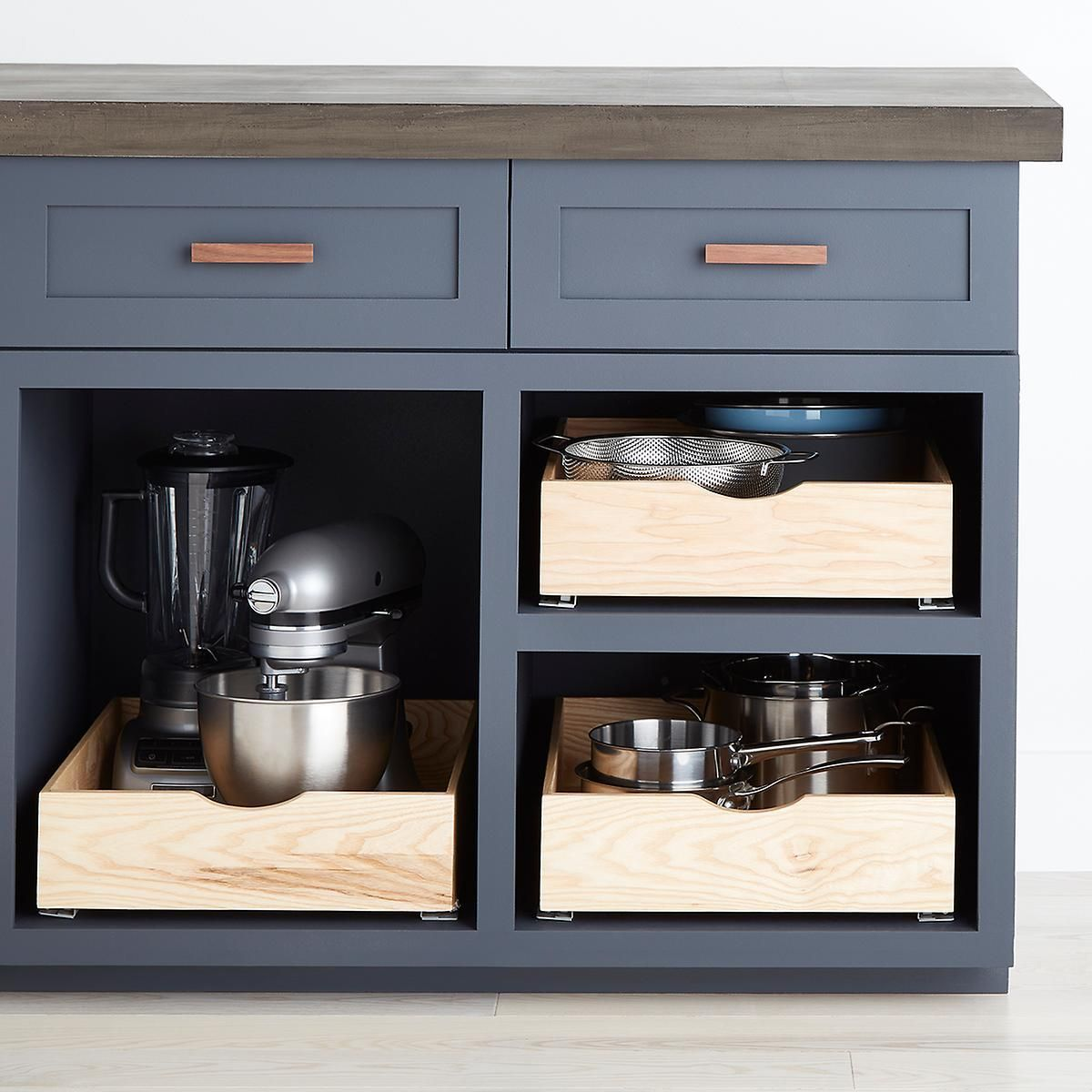 Ash Wood Roll Out Cabinet Drawers Kitchen Cabinet Storage Cabinet Drawers Update Kitchen Cabinets