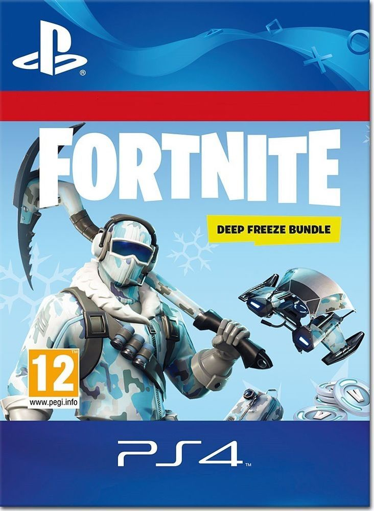 Fortnite Deep Freeze Bundle Ps4 Cd Key Digital Code 12 Digits Free