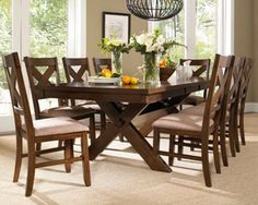 Cross Frame Dining Room Table Walmart  Google Search  Where The Magnificent Dining Room Tables Walmart Design Decoration